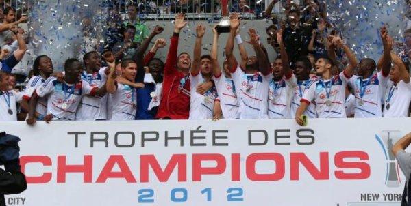 Lyon remporte le Trophée des Champions 2012