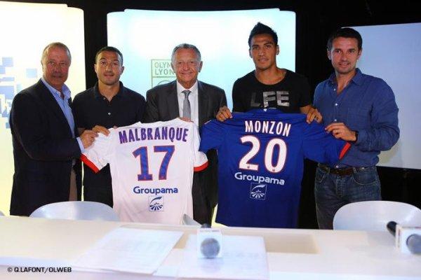 Malbranque et Monzon ont été présentés ! Pied , file a Nice !