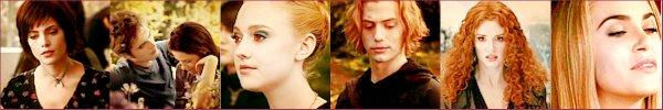 Fascination - Tentation - Hésitation - Révélation Fan de la saga Twilight, Bienvenue.   .
