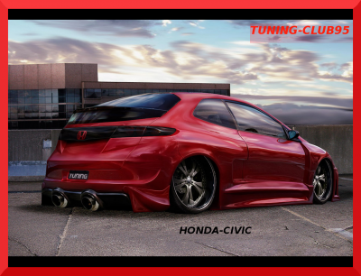 honda civic en v-tuning