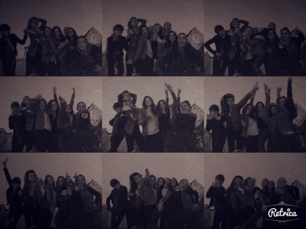 ...<3 8 Danseuses mais pas que ! 8 Soeurs réunies ! Les Mini Espoirs une famille avant tout <3<3<3