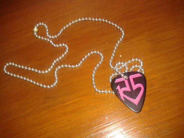 J'ai reçu mon collier