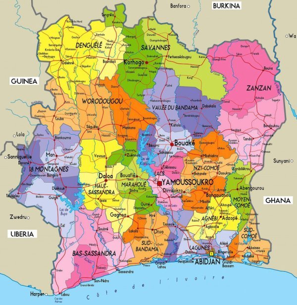 Mon pays la Côte d'Ivoire , La présentation