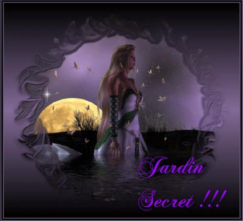 """JARDIN SECRET"""