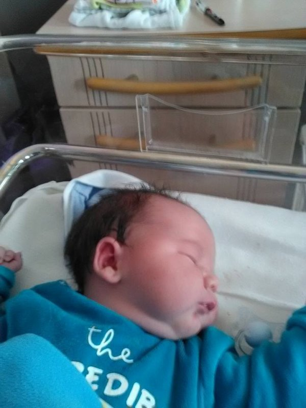 mon filleul et née se matin