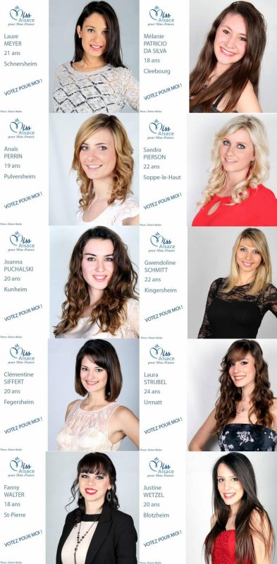 Election de la Miss Alsace 2013 du blog !