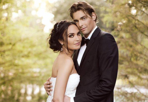 Valérie et Camille : Mariage féerique et champêtre
