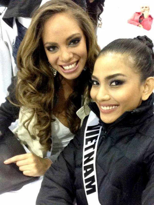 Hinarani à Miss Univers : les premiers pas