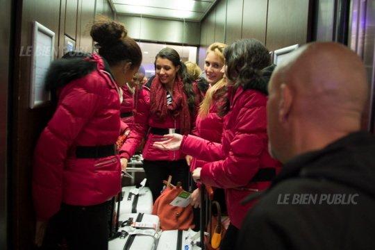 Aventure Miss France : Arrivée à Dijon