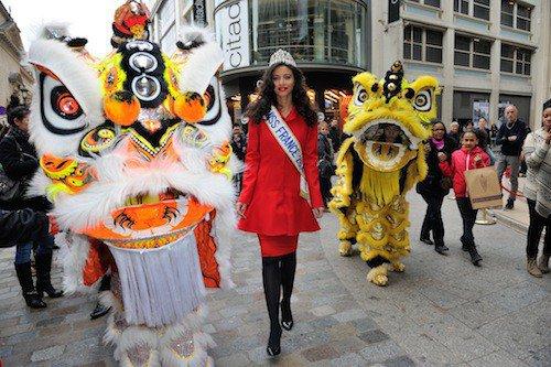 Flora fête le nouvel an chinois !