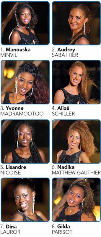 Election de Miss Saint-Martin 2014 !