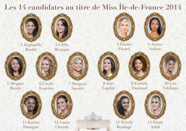 Election de Miss Ile de France 2014 !