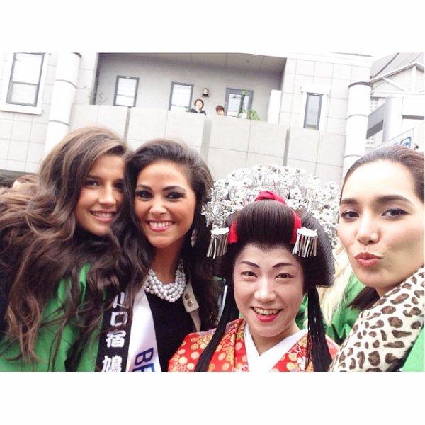 Aurianne à Miss International !