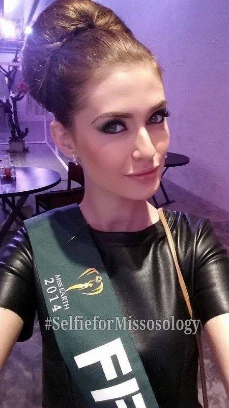 Laetizia à Miss Earth !