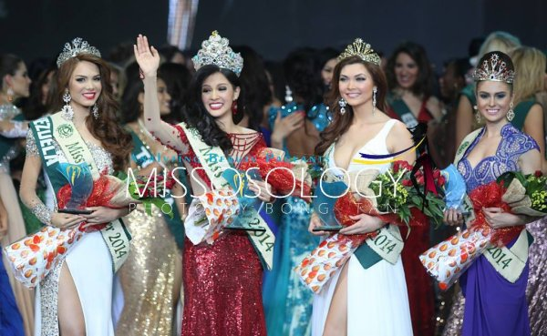 Miss Earth 2014 : Qui est la grande gagnante ?