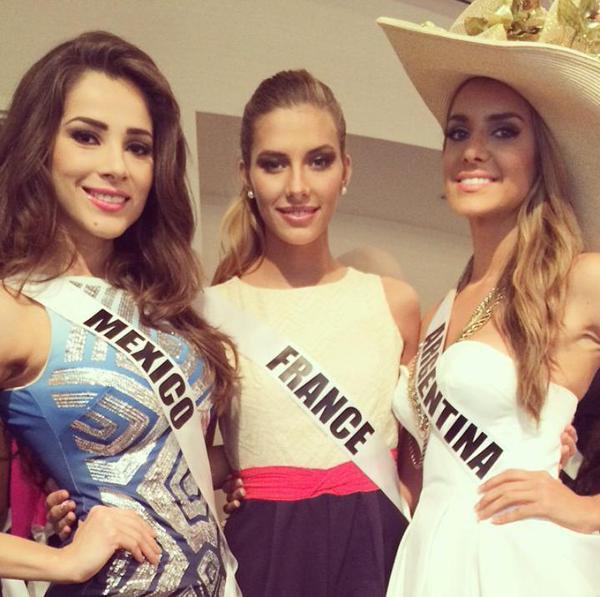 Camille à Miss Universe !!