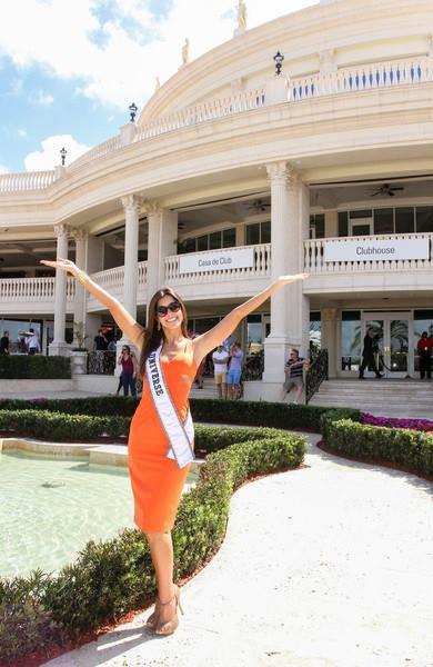Paulina à Miami !