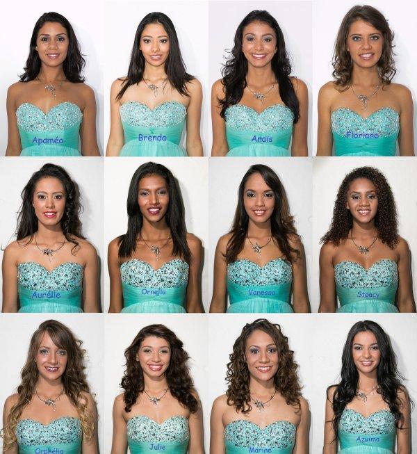 Miss Réunion 2015 : Découvrez les candidates !