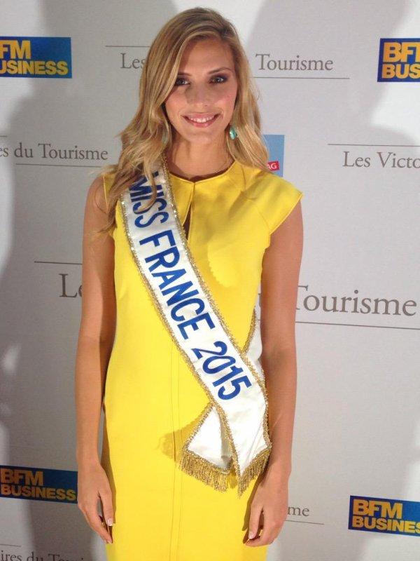 Camille aux Victoires du Tourisme !