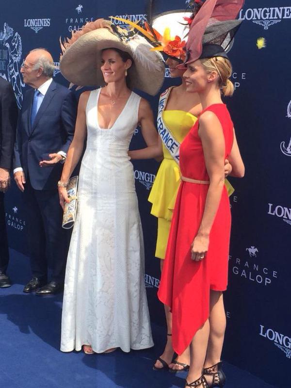 Camille, Flora, Sylvie et Sophie au Prix de Diane !