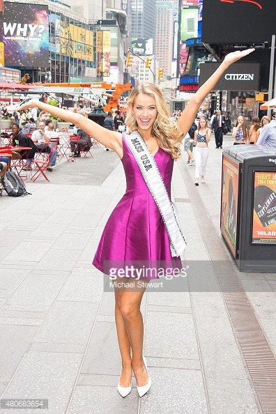 Olivia Jordan fait ses premiers pas en tant que Miss USA !