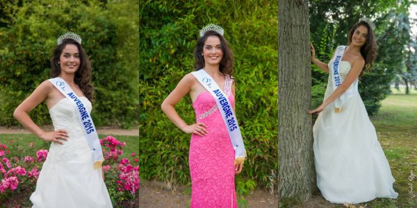 Nouvelles de Miss : Pauline Bazoge - Auvergne 2015