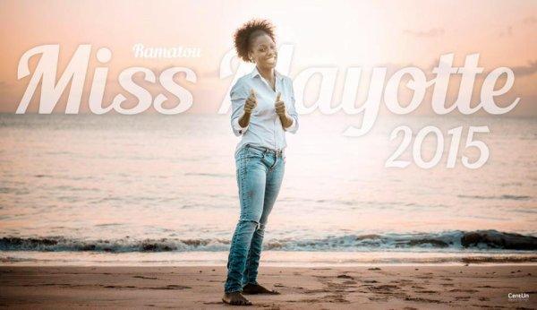 Nouvelles de Miss : Ramatou Radjabo - Mayotte 2015