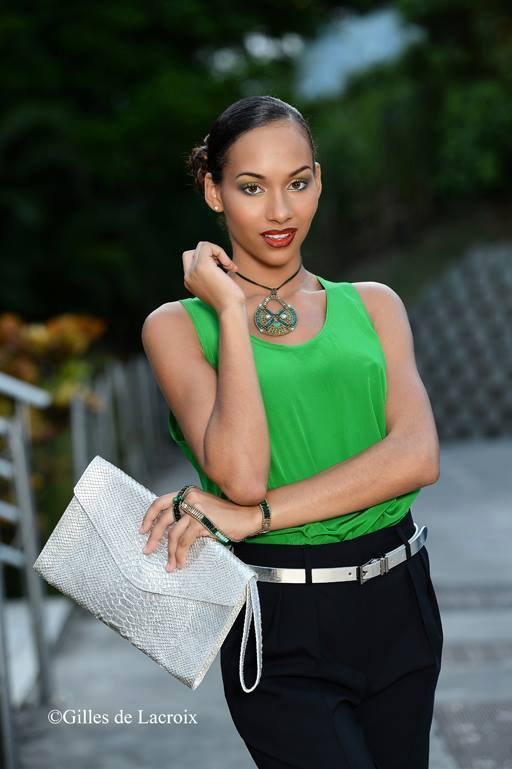 Nouvelles de Miss : Johanna Delphin - Guadeloupe 2015