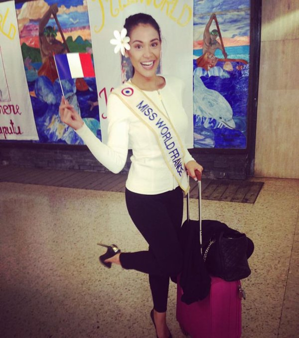 Miss World 2015 : Départ d'Hinarere !