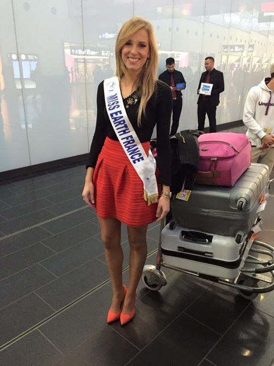 Miss Earth 2015 : Départ d'Alyssa !