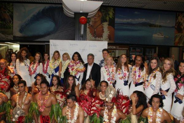 Les Miss sont bien accueillies à Tahiti !