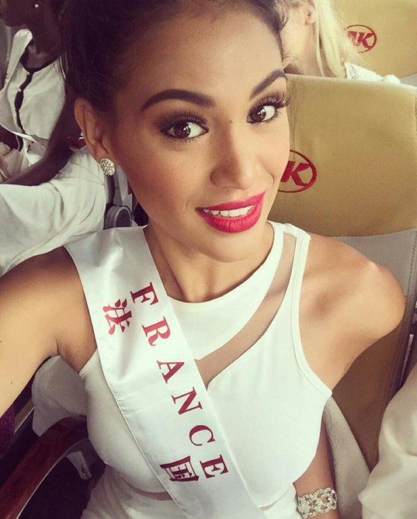 Hinarere à Miss World !