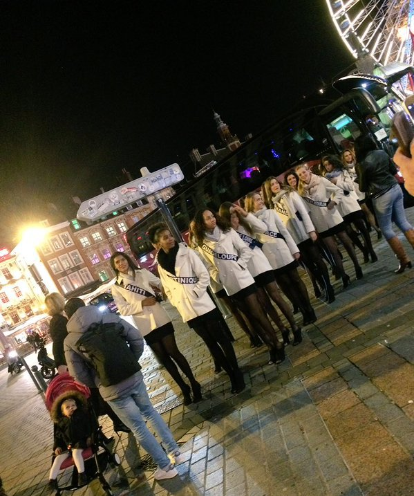 Les filles sont arrivées à Lille !