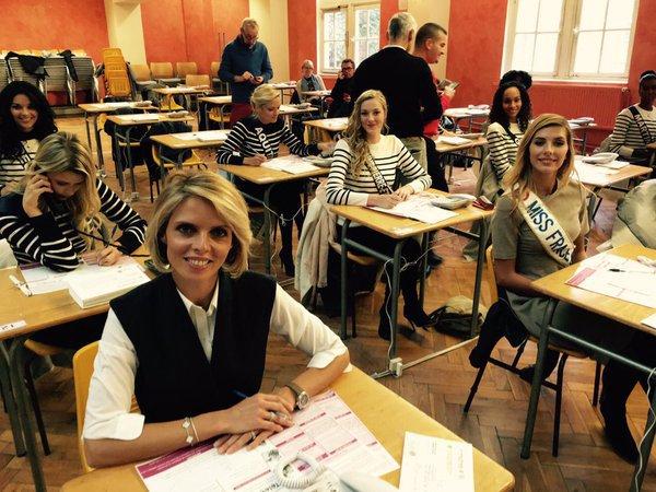 Les Miss se mobilisent pour le téléthon et chaussent les casques d'ERDF !