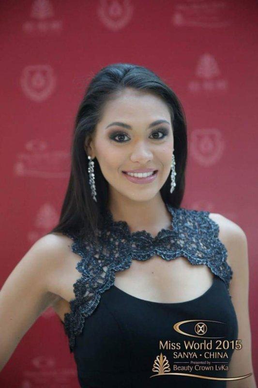 Hina à Miss World !