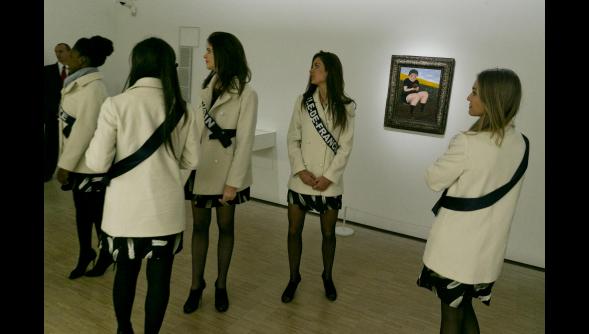 Les Miss dans le monde l'art !