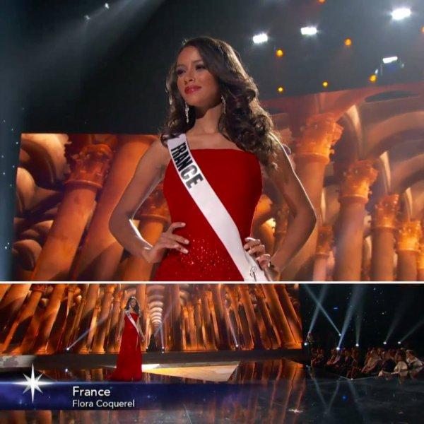 Flora à Miss Univers !