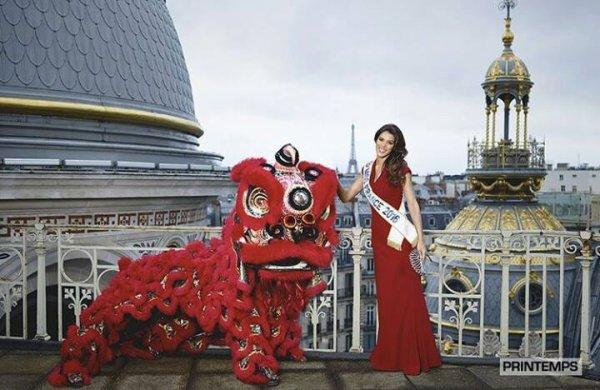 Les photos officielles d'Iris pour le Nouvel An chinois !