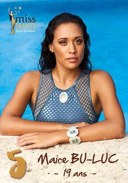 Miss Tahiti 2016 : Découvrez les candidates !