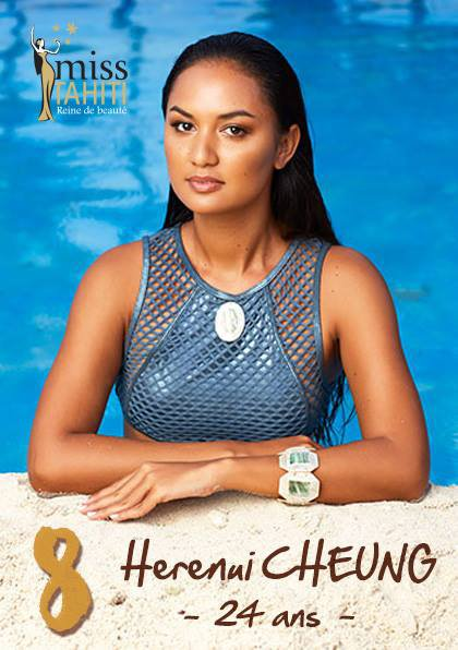 Les autres candidates à Miss Tahiti !