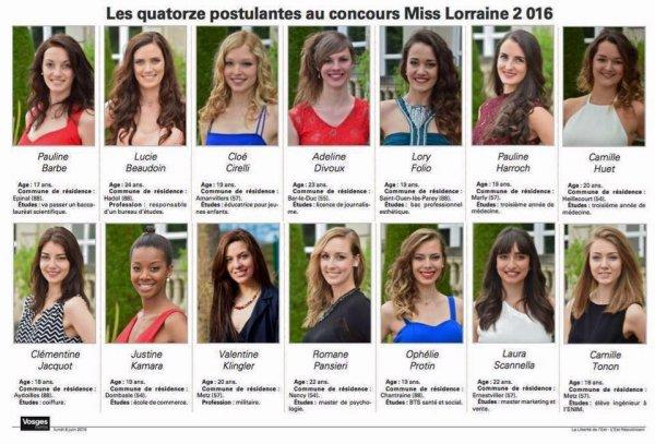 Election de la Miss Lorraine 2016 du blog !