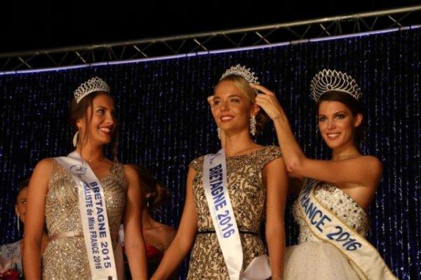 Miss Bretagne 2016 : Découvrez la grande gagnante !