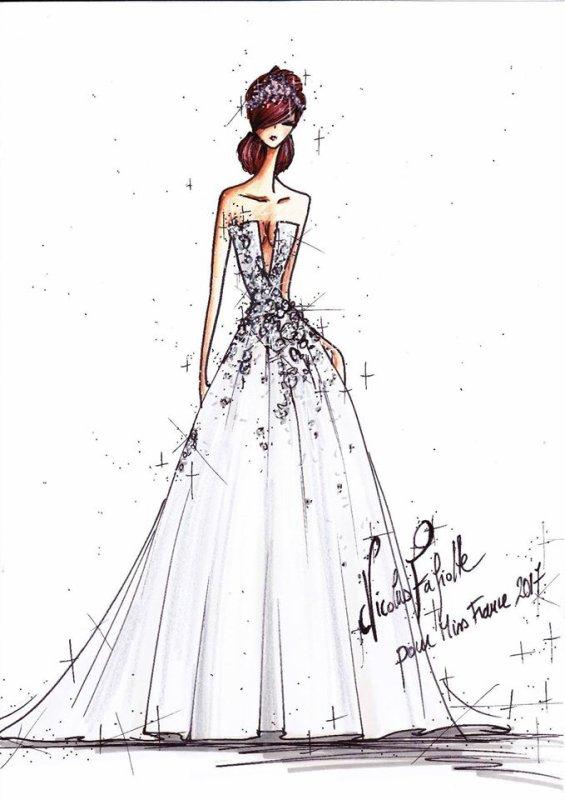 Découvrez une des robes des 5 finalistes !
