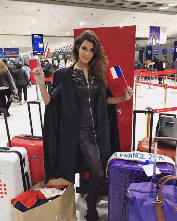 Iris en route pour Miss Univers !