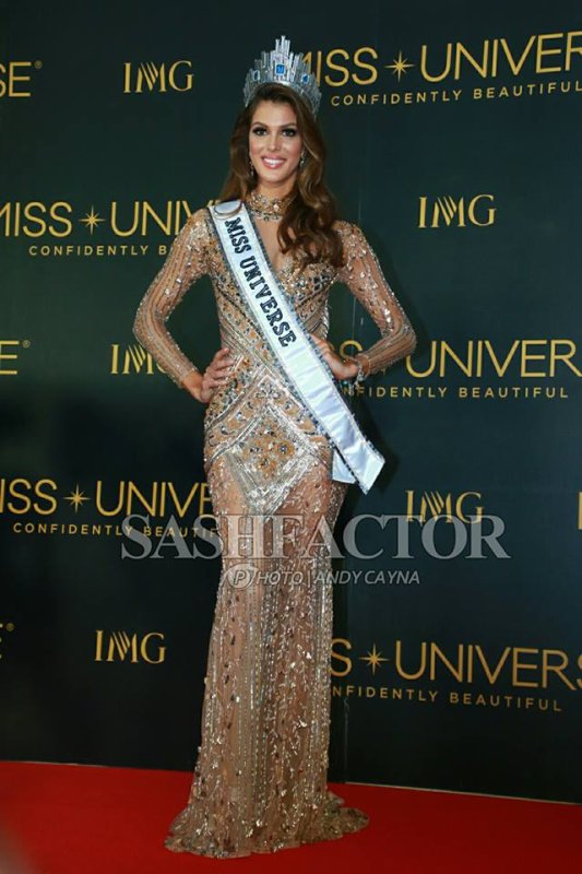 Iris est Miss Univers !