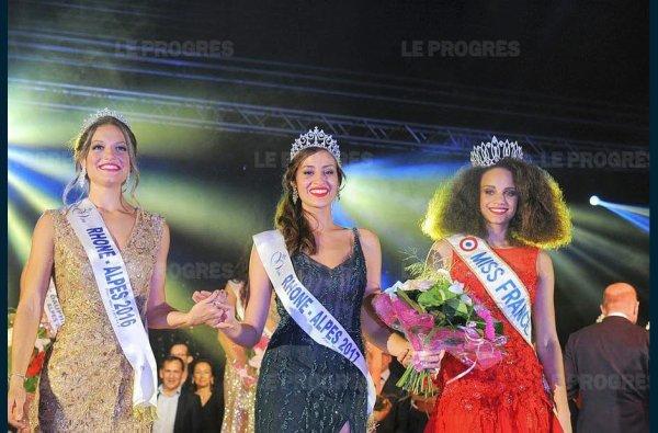 Miss Rhône-Alpes 2017 : Découvrez l'heureuse élue !