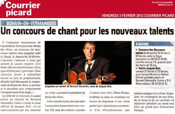 La presse Février 2012