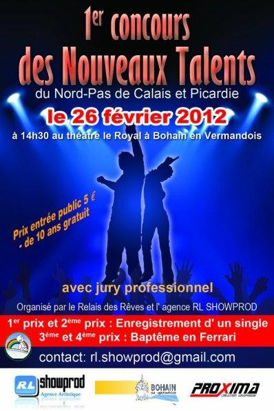 Concours Nouveaux Talents Nord Pas De Calais Picardie