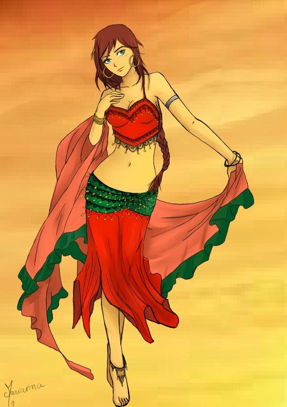 Blog de mariianna34 dessins manga - Danseuse orientale dessin ...