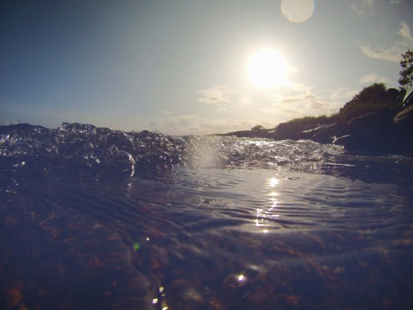 New eyes : in the water